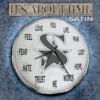 SATIN_It's About Time_Cover