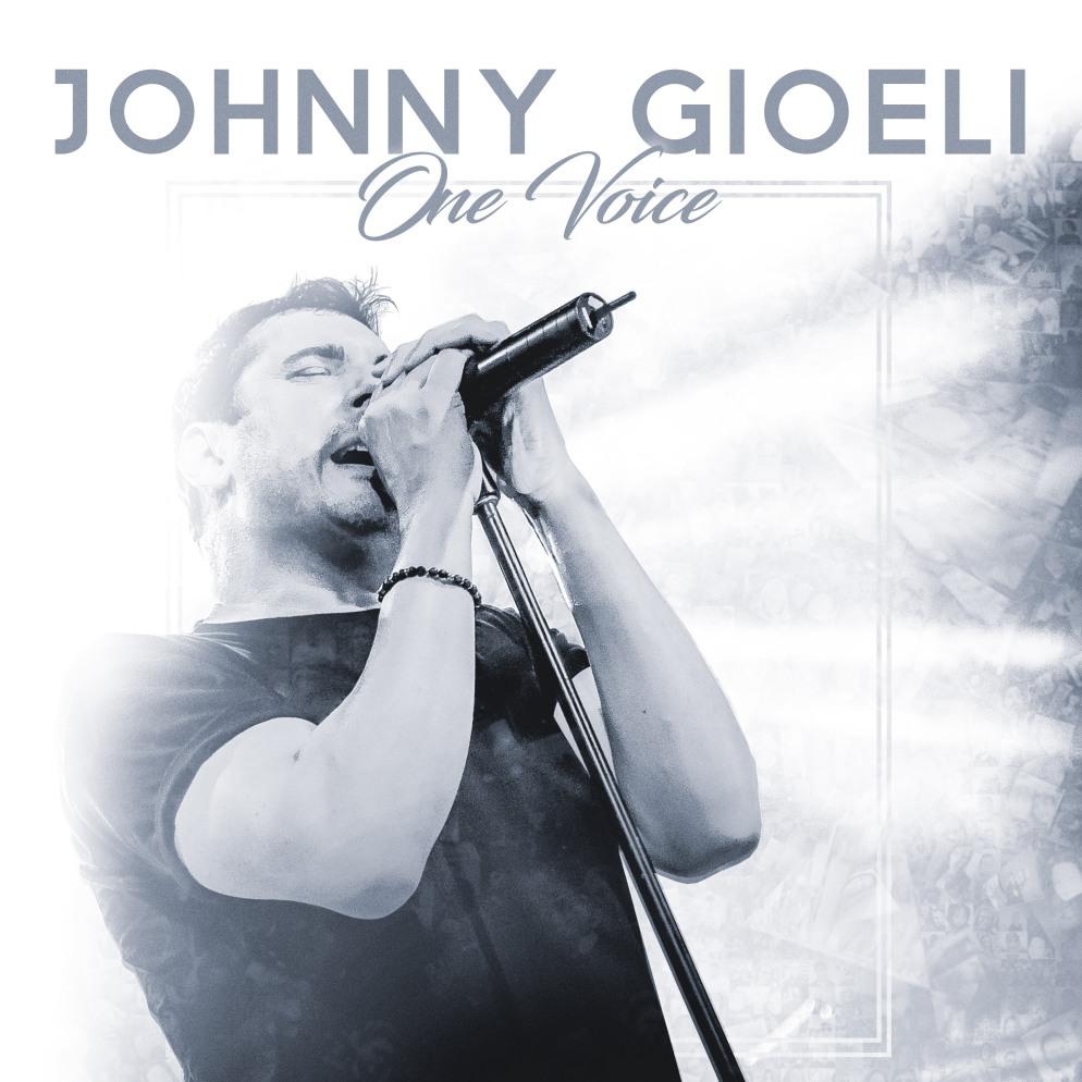 JOHNNY GIOELI One Voice COVER