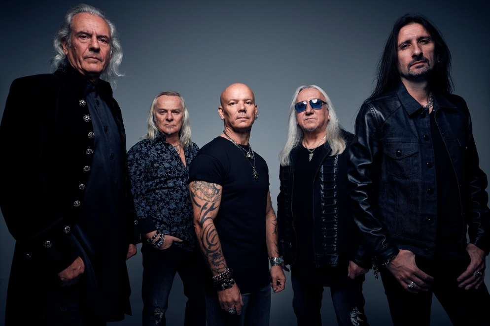 Uriah Heep, photographed by Richard Stow, London, 2017