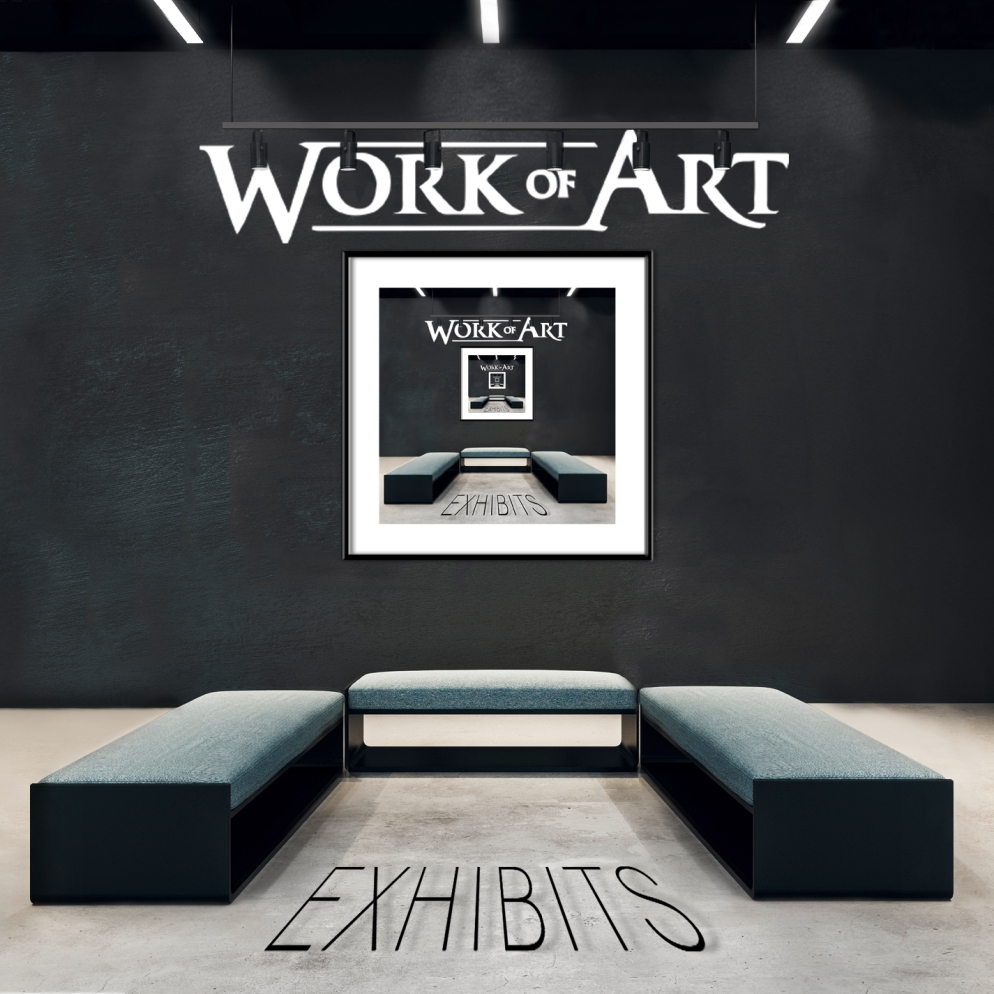 WORK OF ART exhibits COVER HI